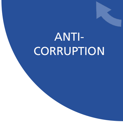 international and national legal requirements against bribery and corruption