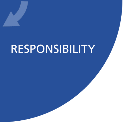 Social responsibility business strategy liable sustainable
